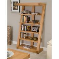 Solid Oak Designer Furniture Large Bookcase