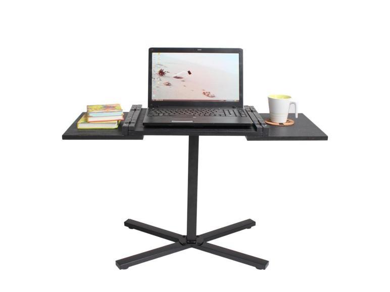 Space Saving Bedside Adjustable Laptop Desk Table Food
