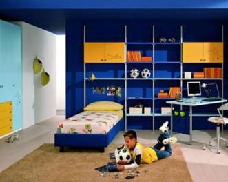 Space Saving Designs Small Kids Rooms Boy Bedroom