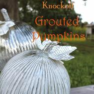 Spain Hill Farm Diy Pottery Barn Knockoff Grouted Pumpkins