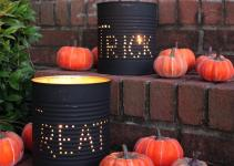 Spooky Stylish Pieces Halloween Diy Outdoor Decor