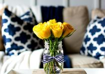 Spring Decor Ideas Navy Yellow All Started