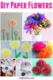Spring Paper Crafts Find Craft Ideas