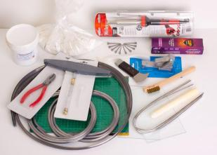 Stained Glass Tools Supplies Lead Light Tool Kit