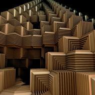 Stairs Creative Ideas Cube