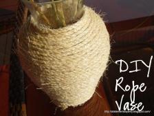 Statements Diy Rope Vase