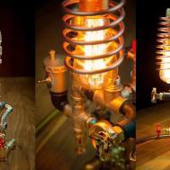 Steampunk Diy Industrial Pipe Lamp