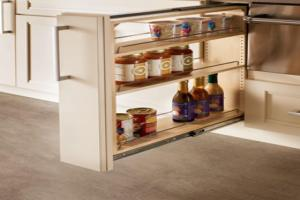 Storage Solutions Kitchen Base Cabinet Pull Out Drawer