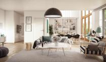 Striped Scandinavian Decor Interior Design Ideas