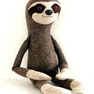 Stuffed Toy Sewing Pattern Sloth Pdf