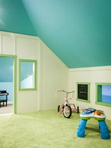 Stunning Attic Playroom Style Children Inspiring