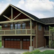 Stunning Craftsman Garage Flooring Home Building
