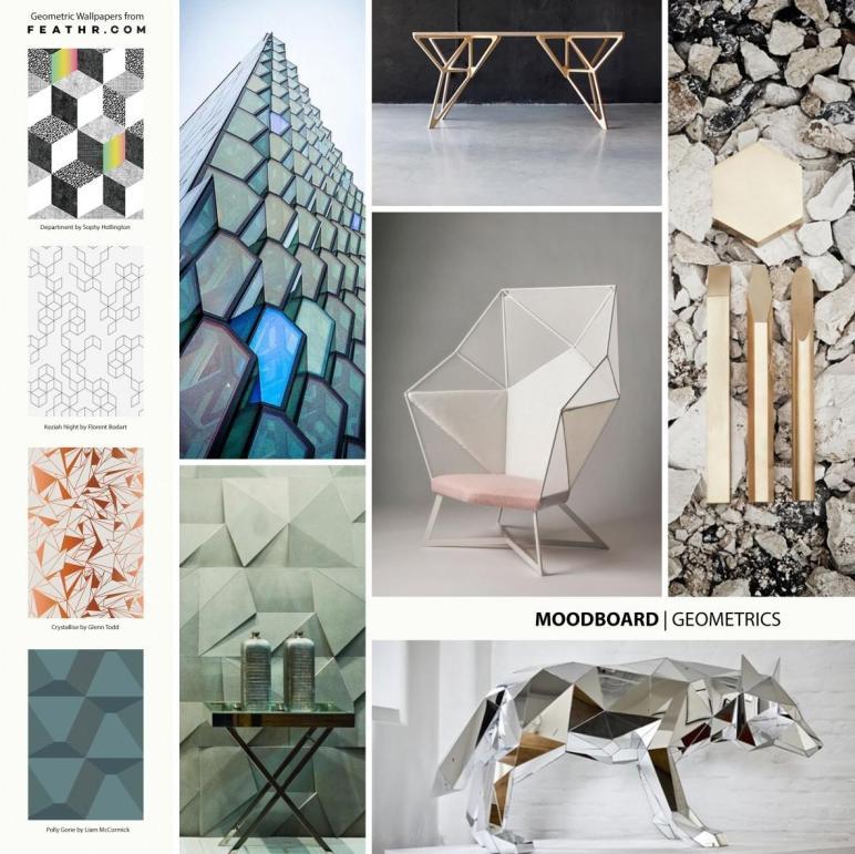 Stunning Geometric Interior Design Designer