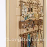 Stupendous Diy Industrial Jewelry Organizer Rack