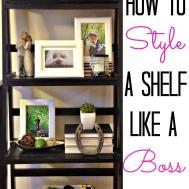 Style Shelf Like Boss