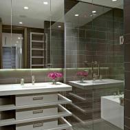 Stylish Grey Bathroom Designs Decorating Ideas
