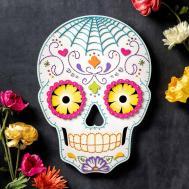 Sugar Skull Craft Diy Halloween Decor Apostrophe