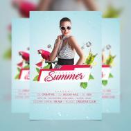 Summer Cocktail Party Flyer Kgm Design Deviantart