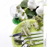 Summer Table Setting Royalty Stock Photos