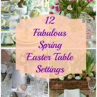 Sunday Brunch Spring Easter Table Settings Mythirtyspot