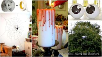 Super Smart Last Minute Diy Halloween Decorations