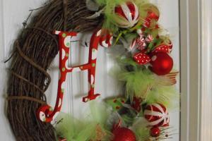 Susie Harris Diy Christmas Wreath