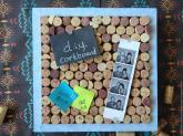 Sweet Lavender Bake Shoppe Wine Cork Board