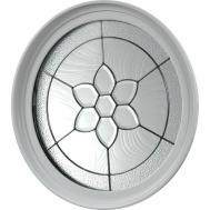 Tafco Windows Round Geometric Vinyl