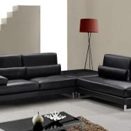 Tango Modern Leather Sectional Sofa