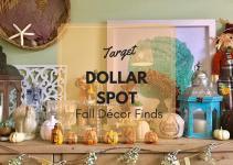 Target Dollar Spot Fall Cor Finds