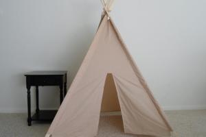 Tea Dyed Muslin Teepee Made Order Kids Teepees Tent