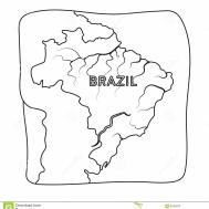 Territory Brazil Icon Outline Style Isolated