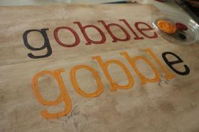 Thanksgiving Diy Gobble Wood Sign