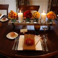 Thanksgiving Table Unique Food Lifestyle Experience