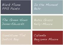 These Paint Colors Big 2018 Painting