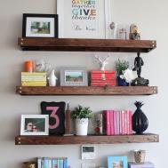 Things Put Shelves Making