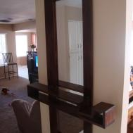 Thinking Out Loud New Entryway Mirror Floating Shelf