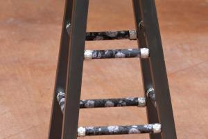Thrifted Wood Stool Make Over Morena Corner