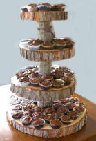 Tier Tree Slice Large Cupcake Stand Jesseleedesigns