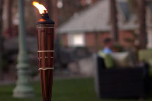 Tiki Torches Backyard Beach Ideas Ways Bring