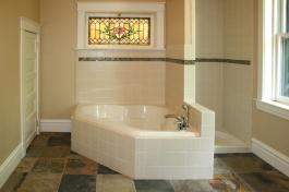 Tiled Bathroom Floors Moroccan Inspired Floor
