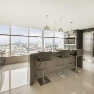Tiled Floor Ideas Luxury London Penthouse Apartment