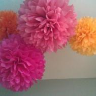 Tissue Pom Flowers Diy Decor Kit Pick Your Prosttothehost