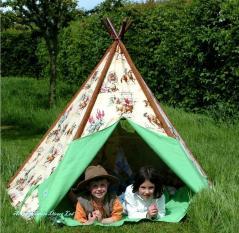Tobs Cowboy Wigwam Kids Teepee Indoor Outdoor