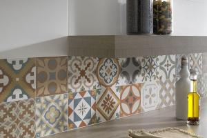 Top Patchwork Tile Backsplash Designs Kitchen