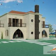 Traditional Lebanese Villa Zaarour Arch Arts