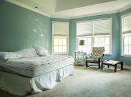 Traditional Master Bedroom Masculine Feminine