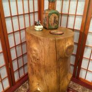Tree Stump Table Rustic Wood Furniture Forestwoodtables