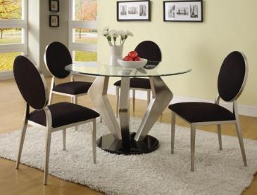 Trendy Impressive Design Using Grey Furry Black Fabric