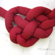 Tried Twisted Diy Celtic Knot Heart Pillow